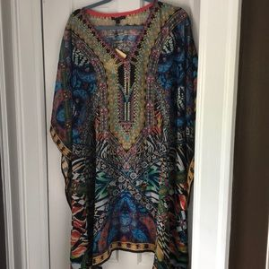 NWT LADIES SHEER cover up